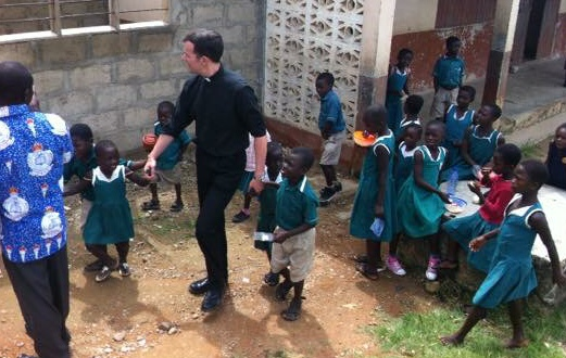 Dancing with the School Children