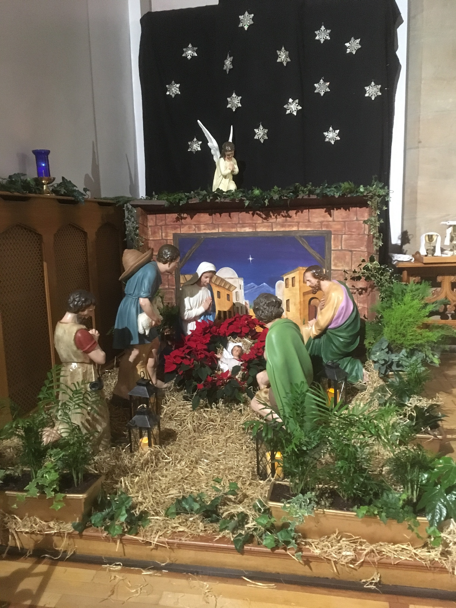 So they hurried off and found Mary and Joseph, and the baby, who was lying in the manger. 17 When they had seen him, they spread the word concerning what had been told them about this child,