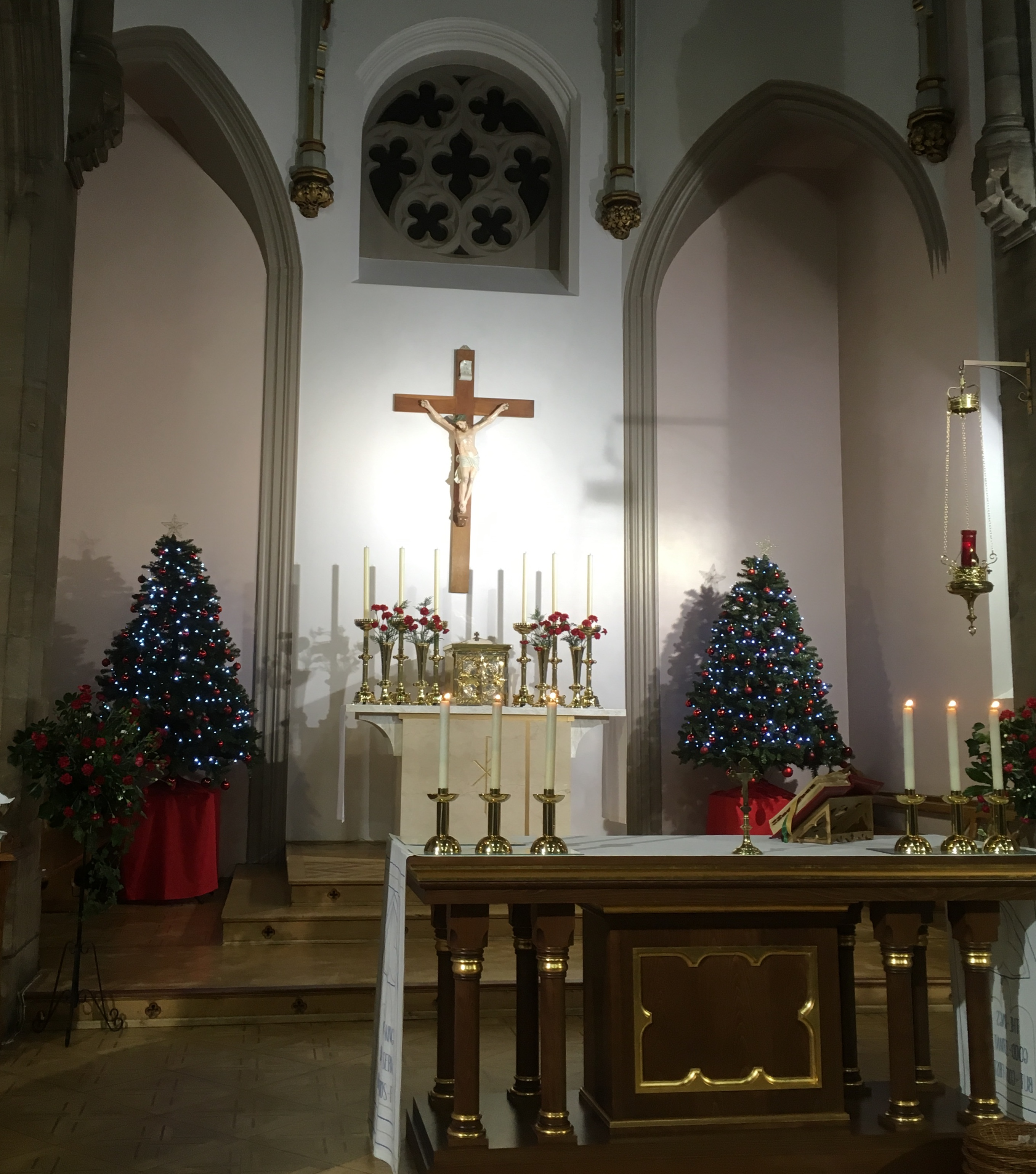 Merry Christmas and a happy new year from all at the Parish of St. Charles and St. Thomas More