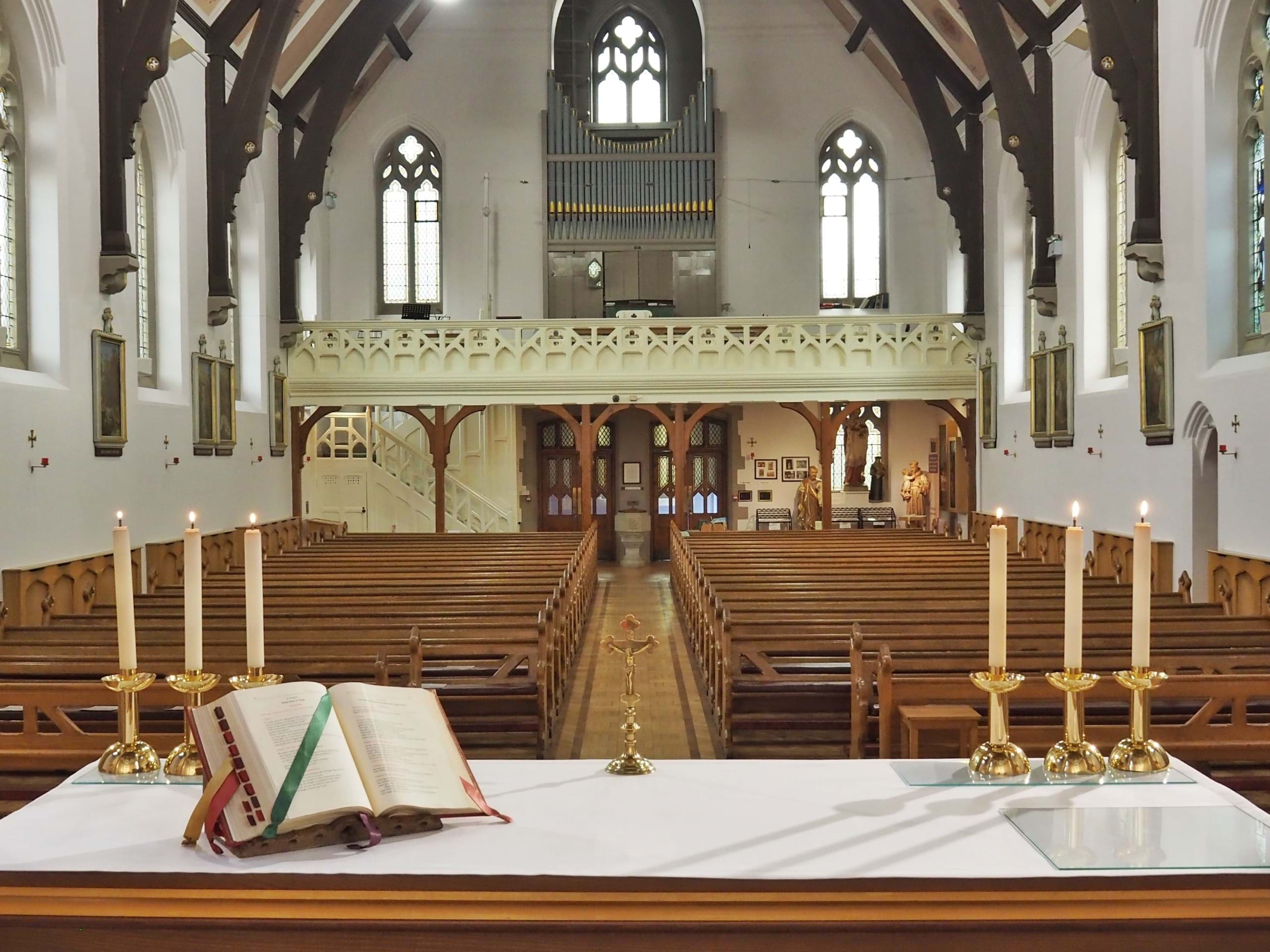 St Charles Church - View from Altar